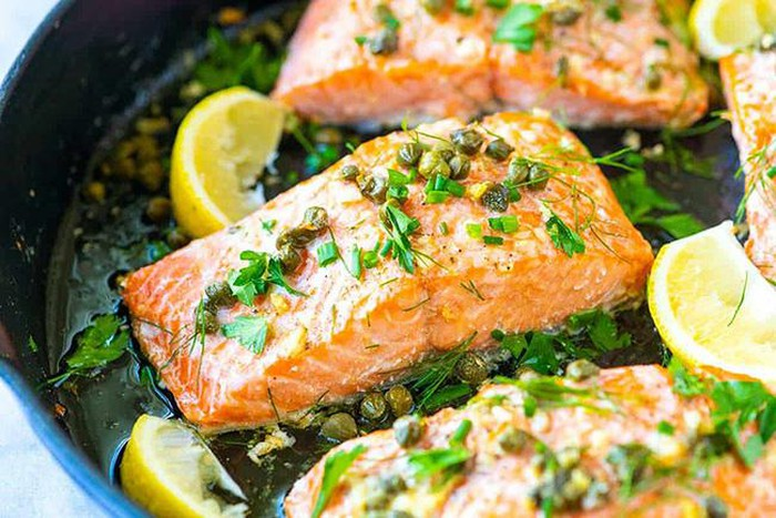 Món ăn được chế biến từ cá