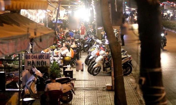 Đoạn vỉa hè đường Phạm Văn Đồng