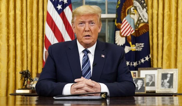 Tổng thống Mỹ ông Trump